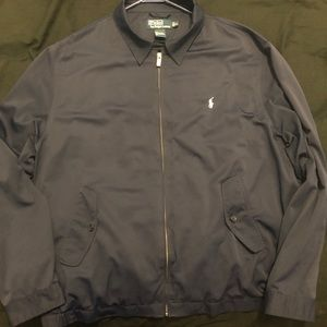 Navy blue Polo Ralph Lauren windbreaker jacket